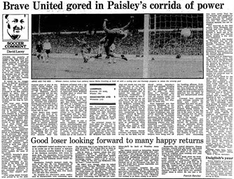 Guardian match report