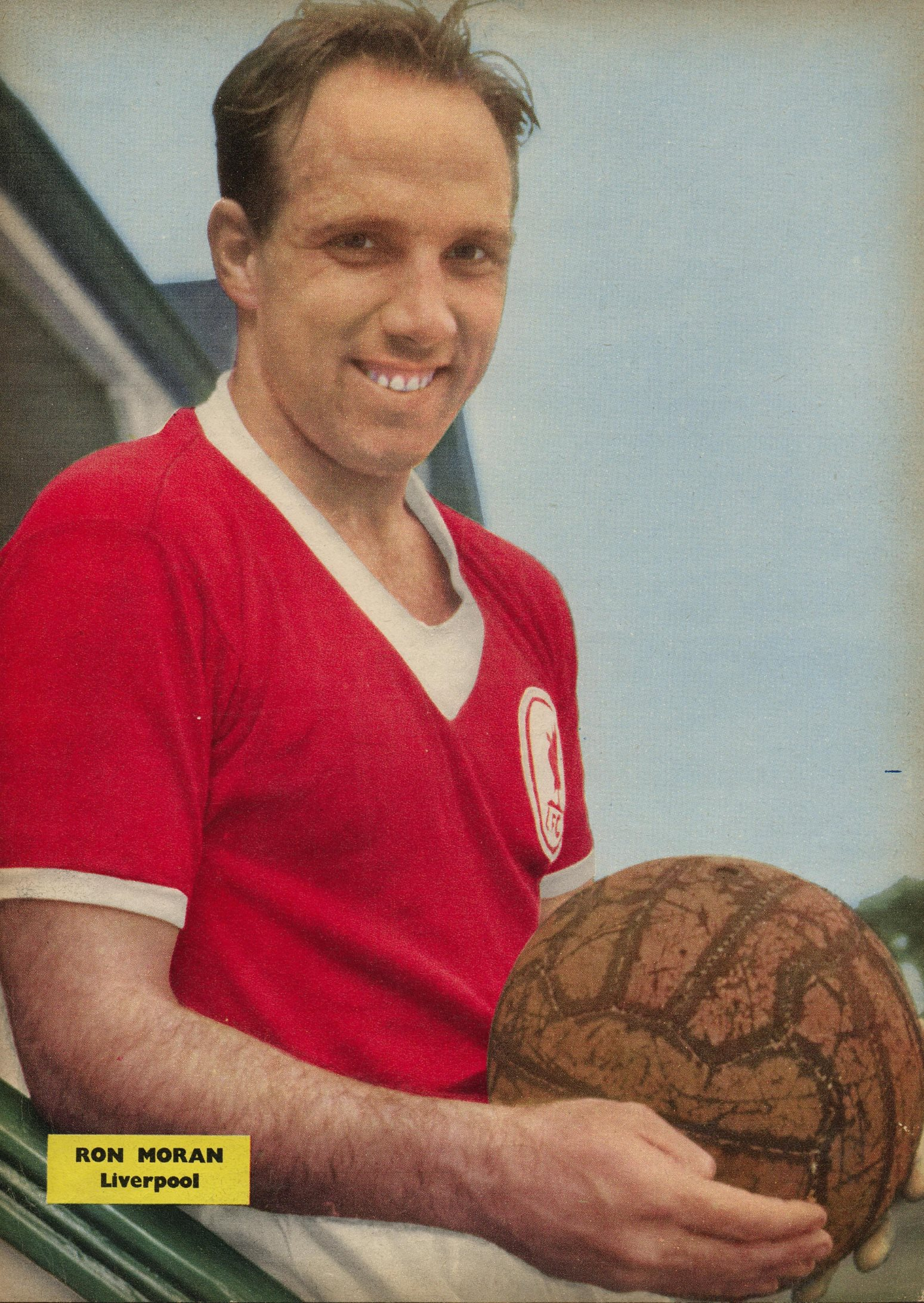 Poster of Ronnie Moran - Football Monthly 1960
