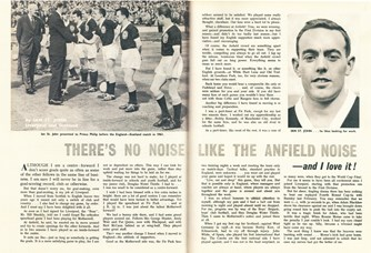 There's no noise like the Anfield noise! - Football Monthly 1963
