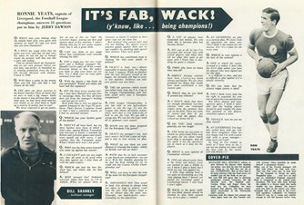 Q&A with Ron Yeats - Football Monthly June1964