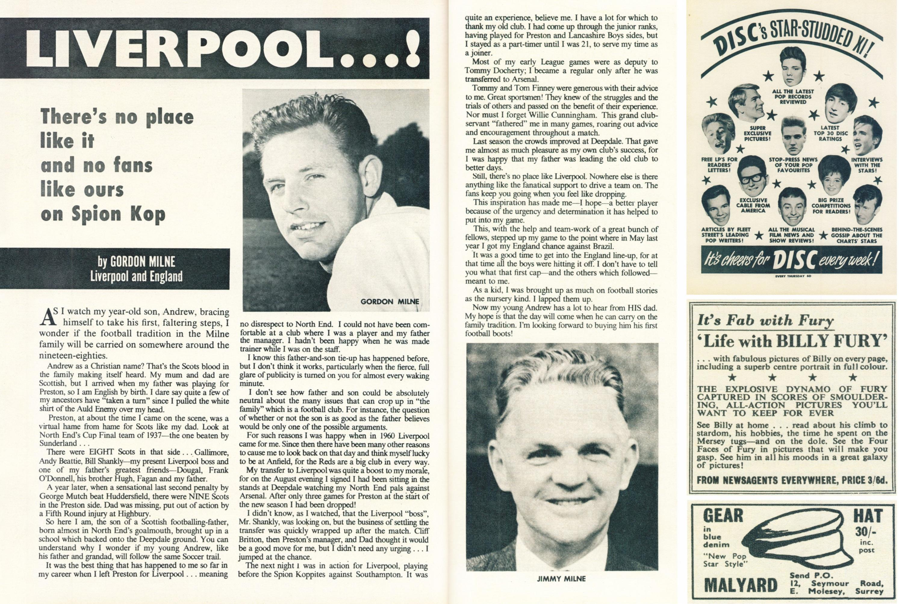 No place like Liverpool! - Football Monthly 1964