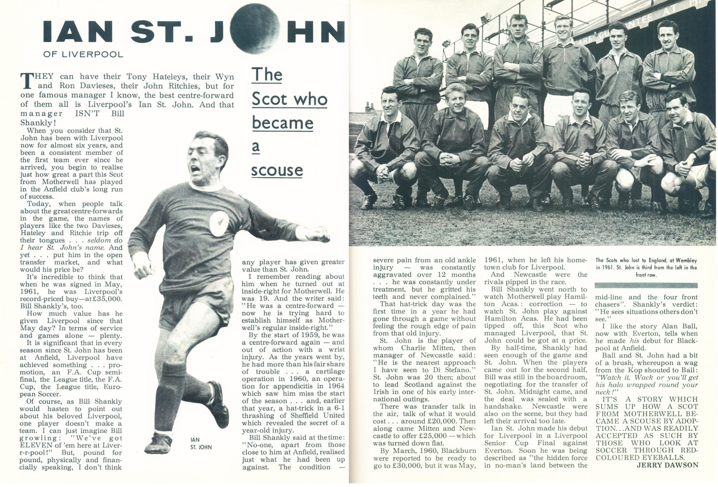 The Scot who became a Scouse - Football Monthly 1967