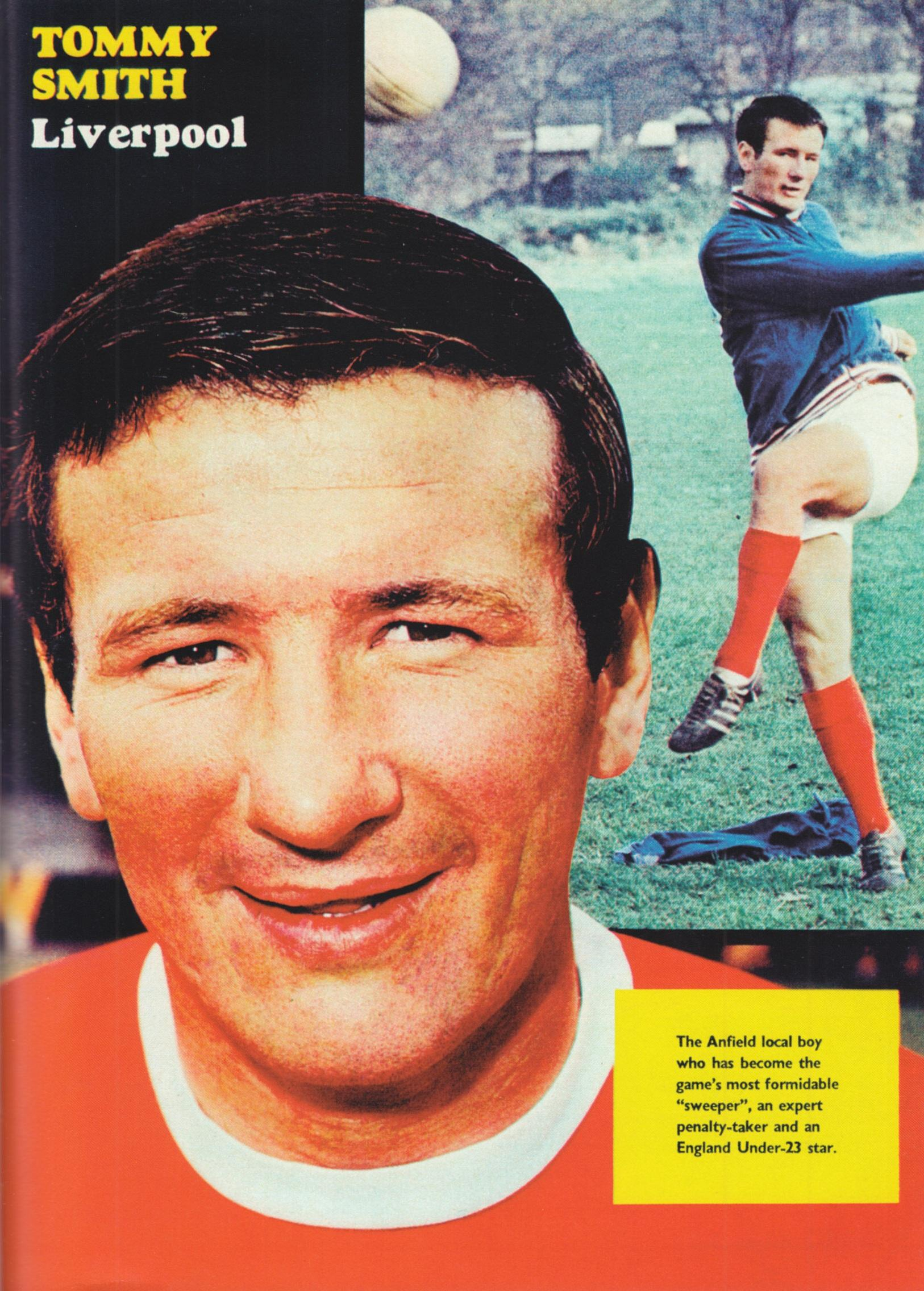Poster of Tommy Smith - Football Monthly May 1968