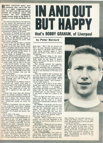 In and out but happy - Football Monthly November 1969