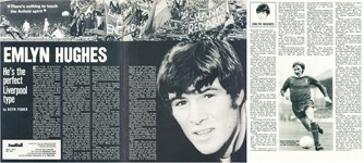 Emlyn Hughes is the perfect Liverpool type - Football Monthly