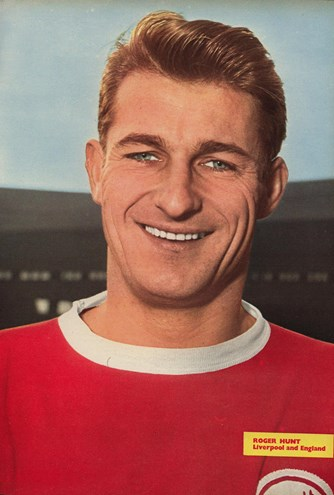 Poster of Roger Hunt - Football Monthly 1964