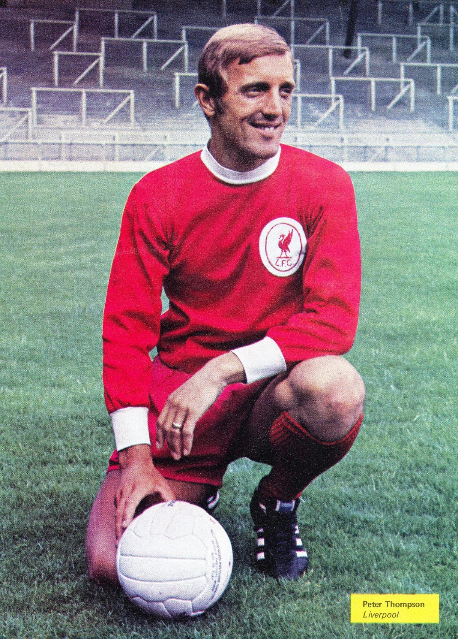 career - Liverpool stats for LFChistory Thompson Peter