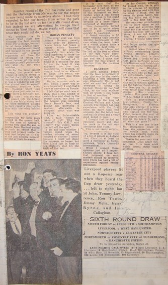 Ron Yeats previews the Hammers