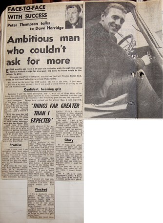 Ambitious man who couldn't ask for more - 8 May 1964