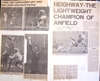 Heighway the lightweight champion of Anfield! - 17 October 1970