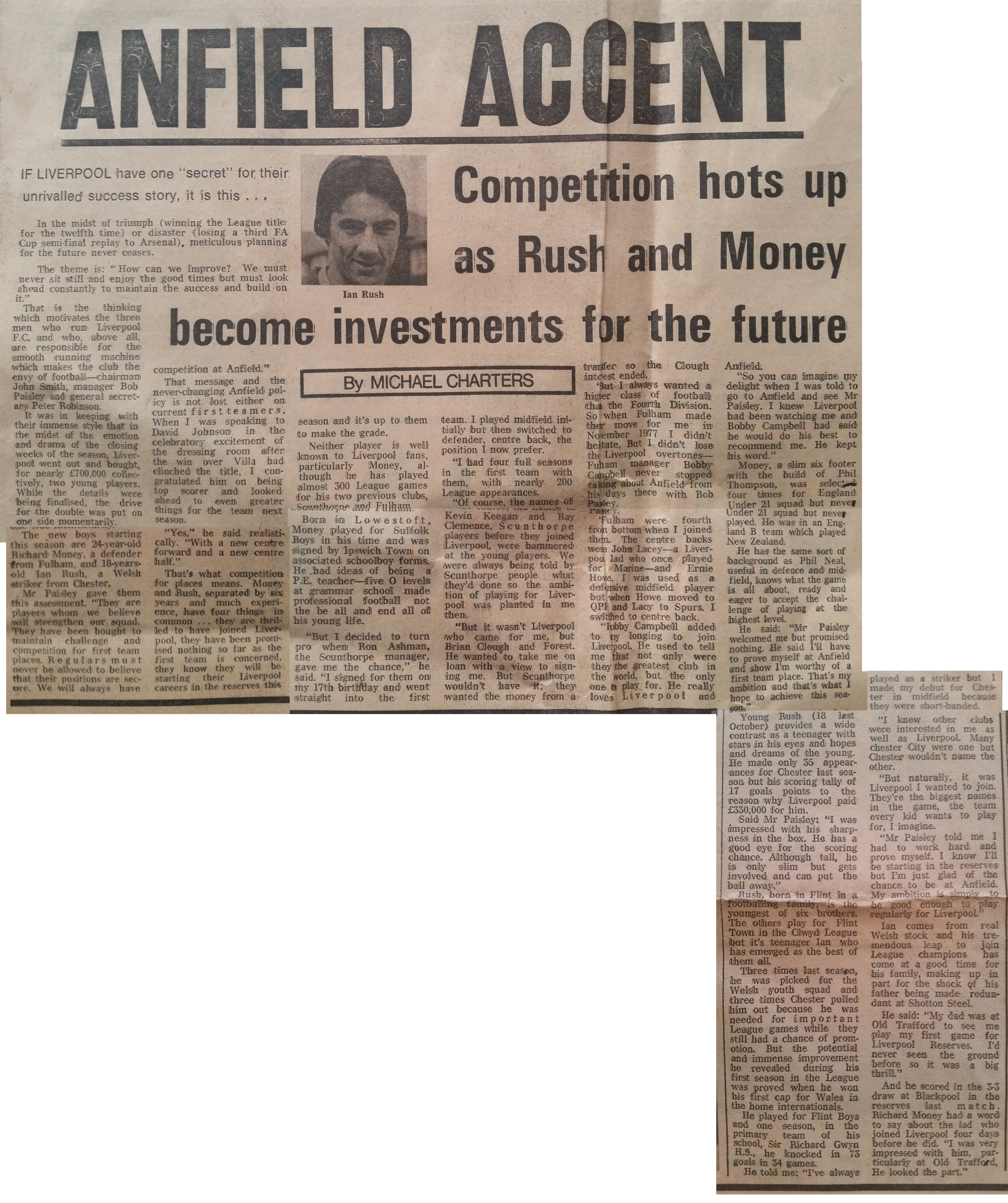 Rush and Money become investments for the future - May 1980
