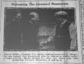 Wilson welcomes newcomers 13 March 1930