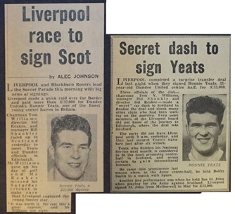 Secret dash to sign Yeats