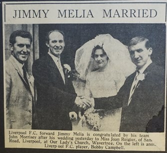Melia marries 1961
