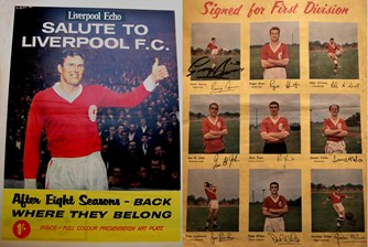 Salute to Liverpool FC - Liverpool Echo souvenir in 1962