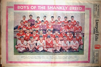 Liverpool Echo cover - Boys of the Shankly breed