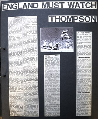 England must watch Thompson - 5 October 1963