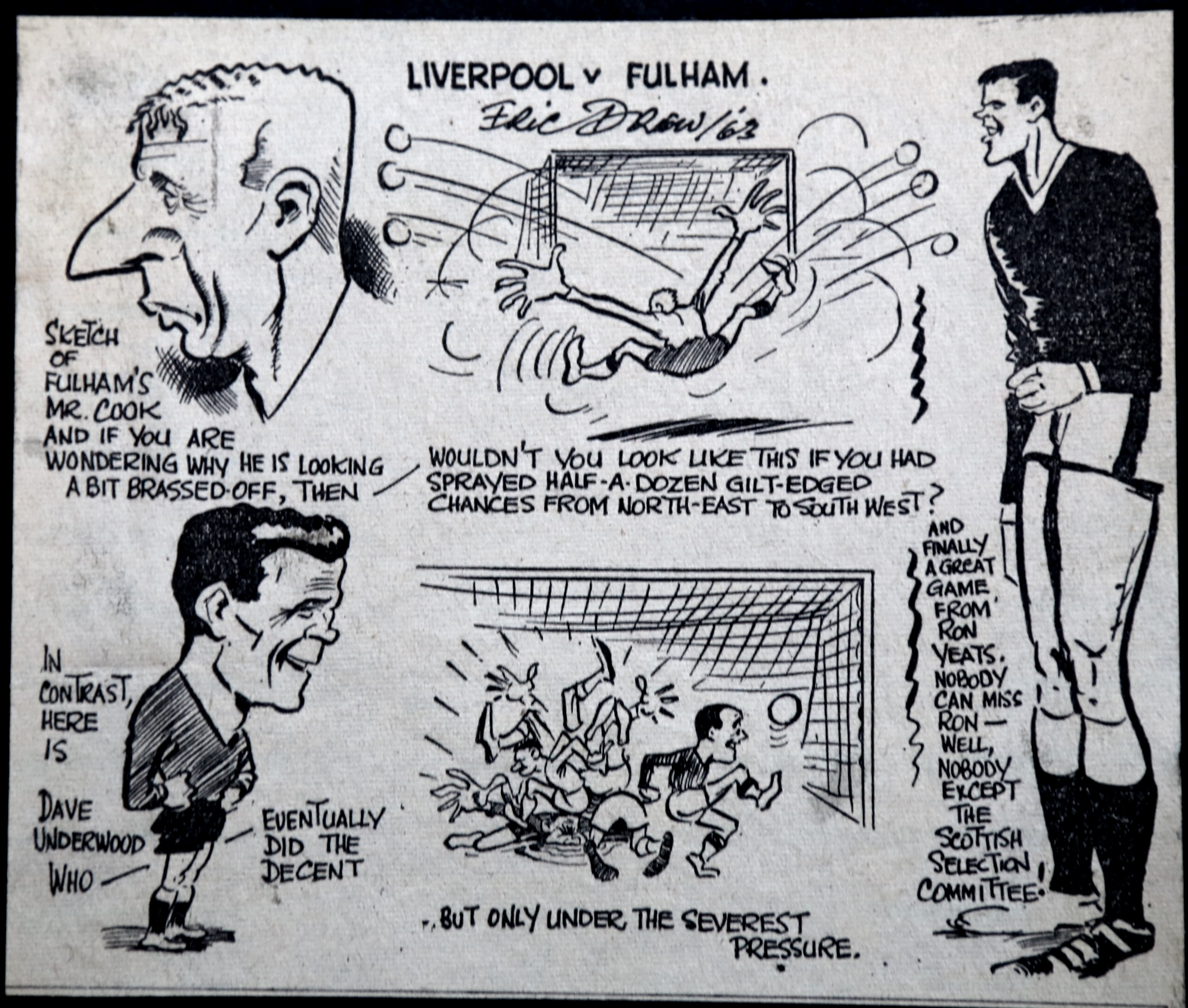Sketch from the Echo - 16 November 1963