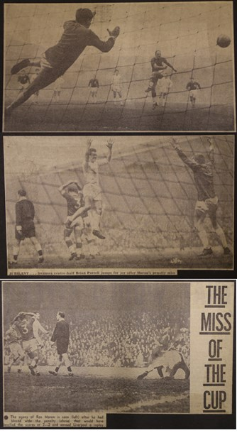 The miss of the cup - 29 February 1964