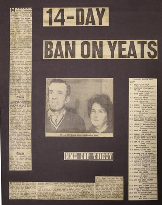14-day ban on Yeats - March 1964
