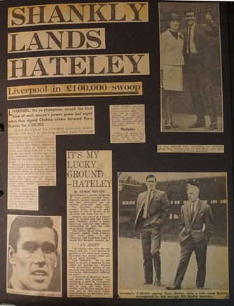 Shankly lands Hateley
