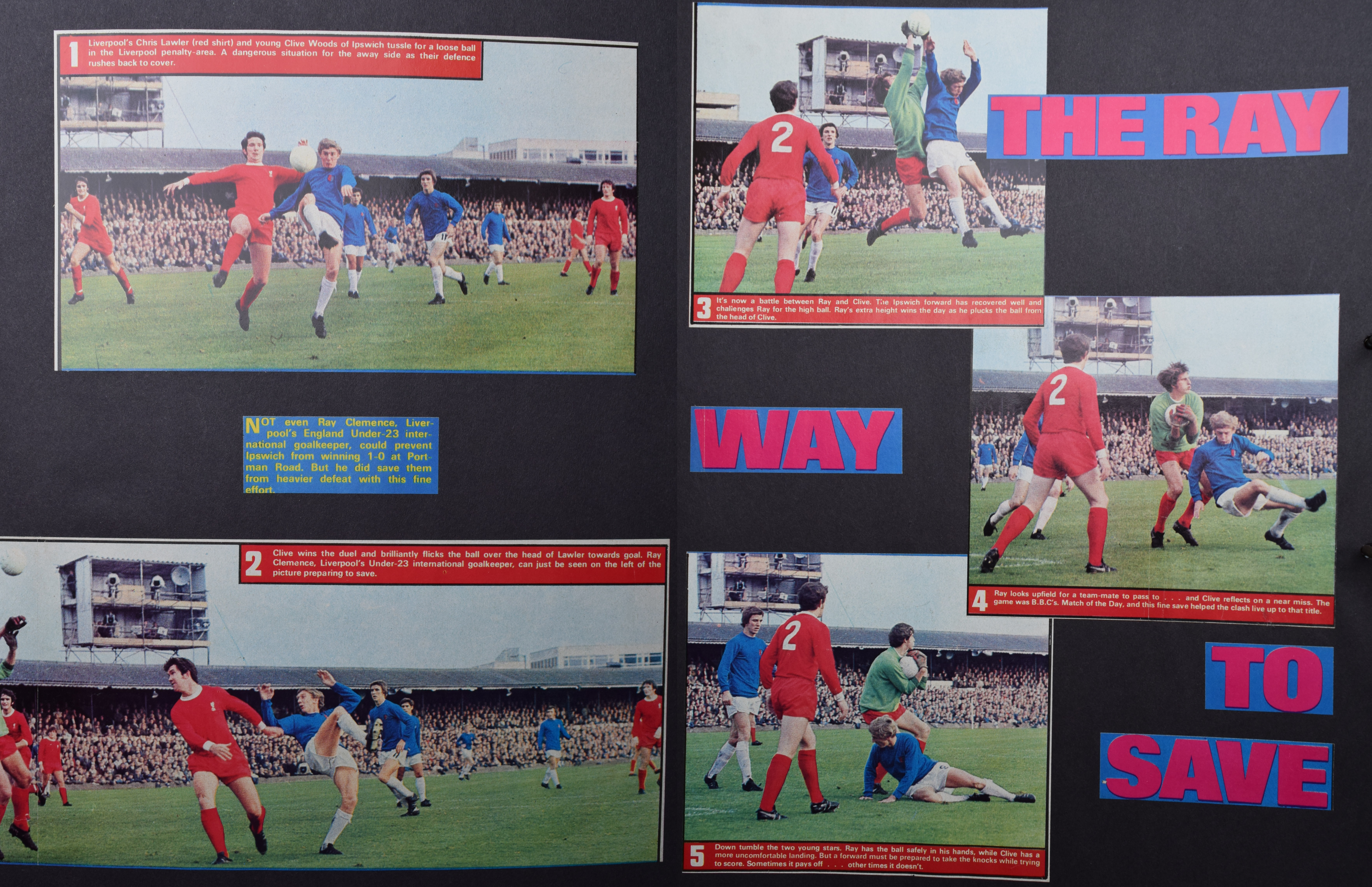 The Ray way to save - Match images - 24 October 1970