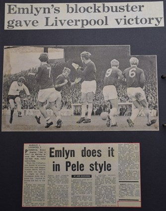 Emlyn's blockbuster gave Liverpool victory