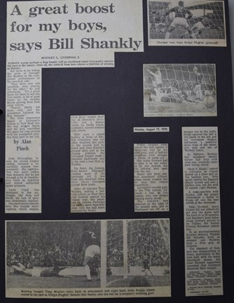 A great boost for my boys, says Bill Shankly