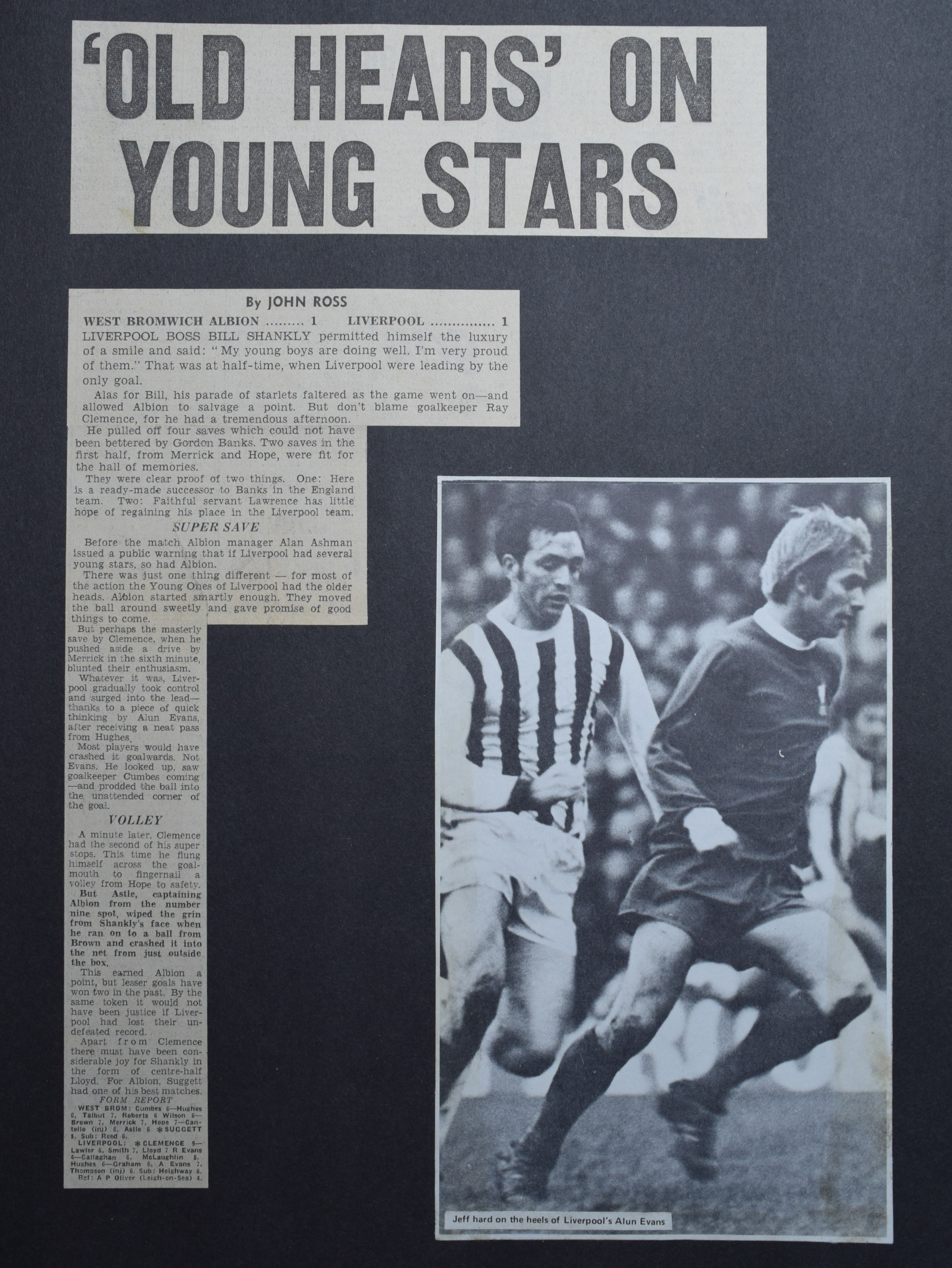 Old heads on young shoulders! - 29 August 1970