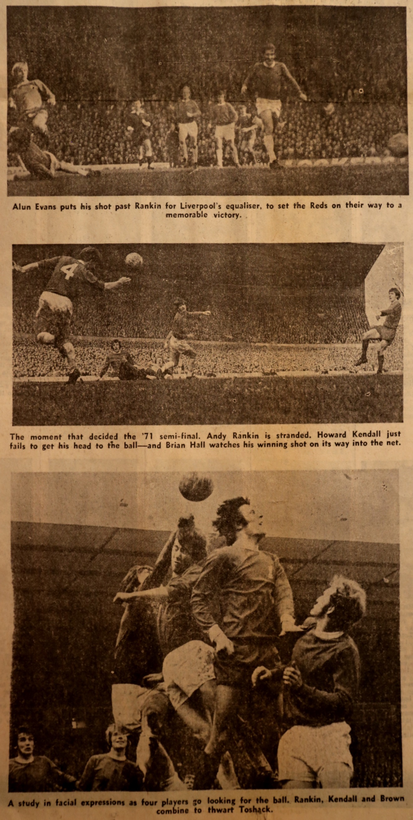The goals that booked Wembley - 27 March 1971