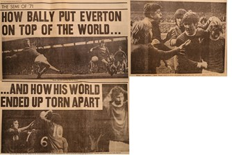 How Bally put Everton on top of the world and how his world ended up torn apart!