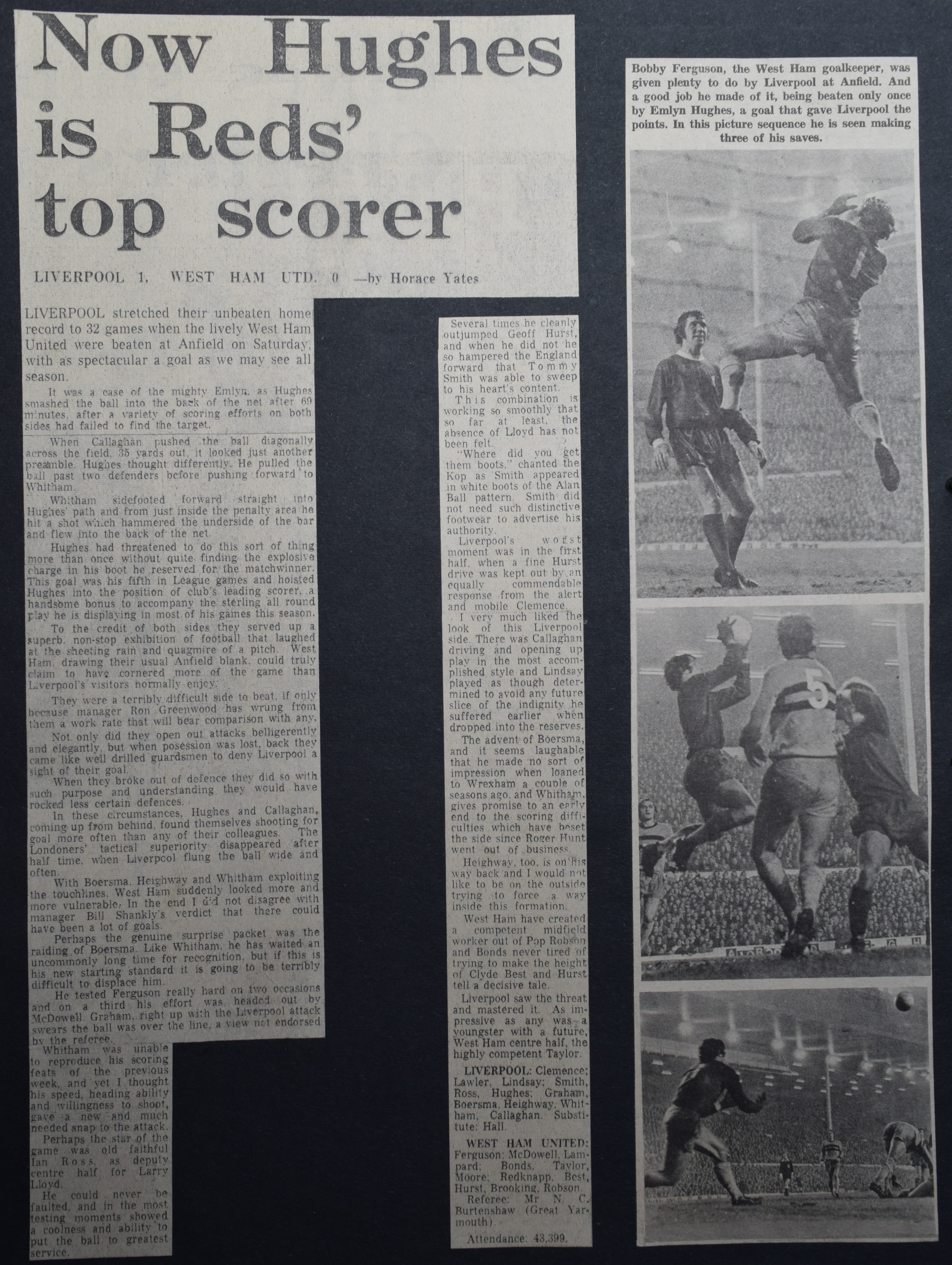 Liverpool career stats for Emlyn Hughes - LFChistory - Stats galore ... c516074c1