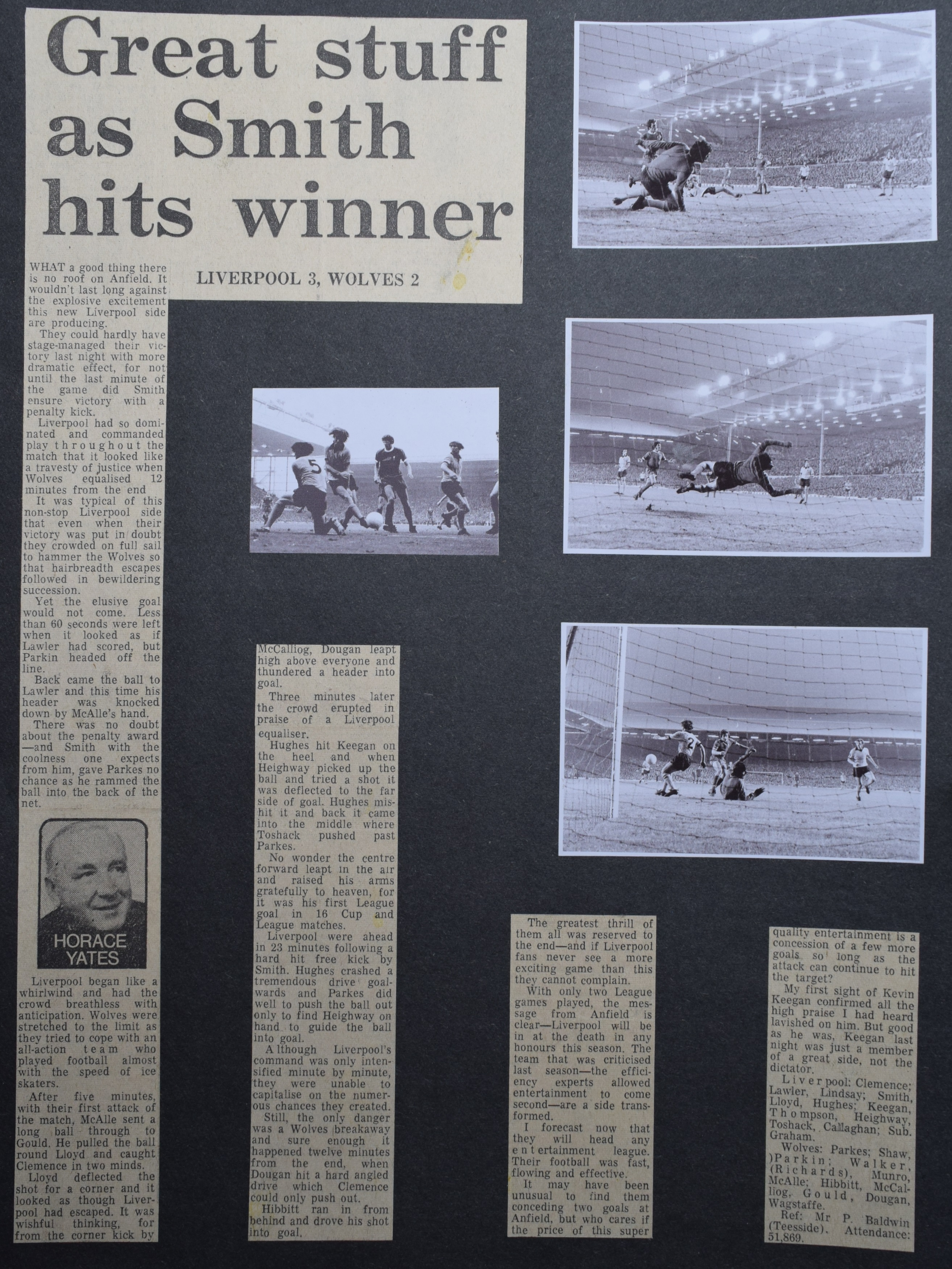 Great stuff as Smith hits winner! - 17 August 1971
