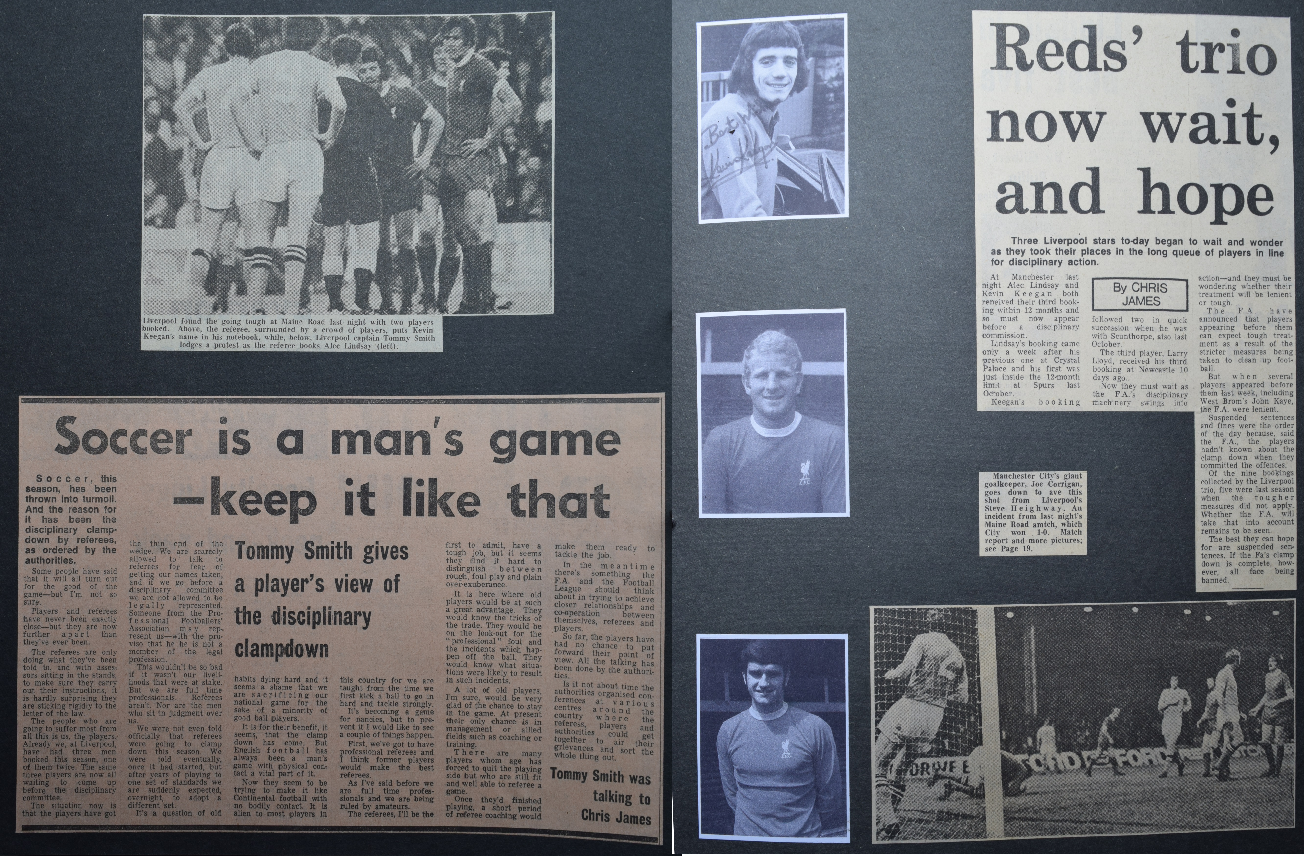 Soccer is a man's game - 1 September 1971