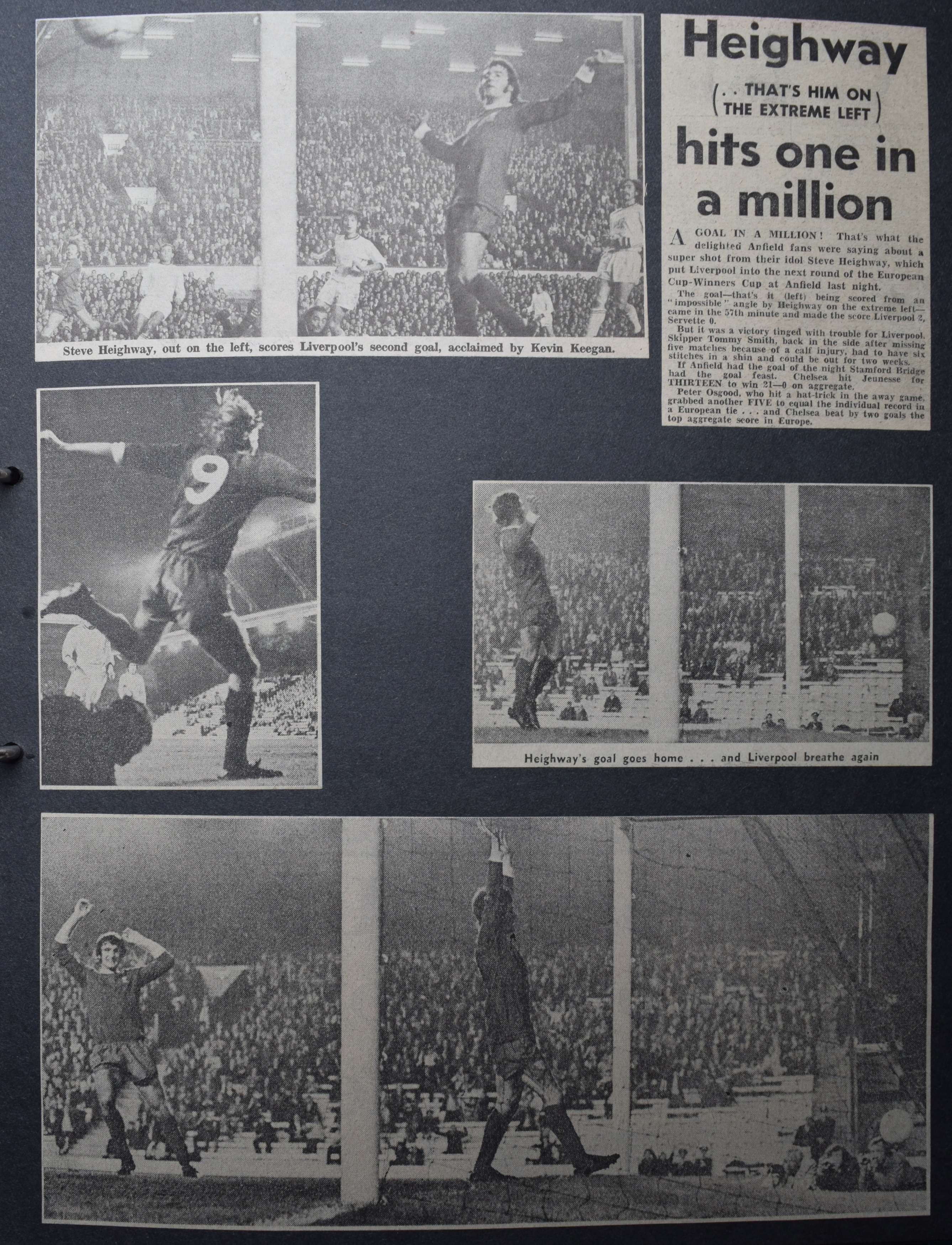 Heighway hits one in a million - 29 September 1971