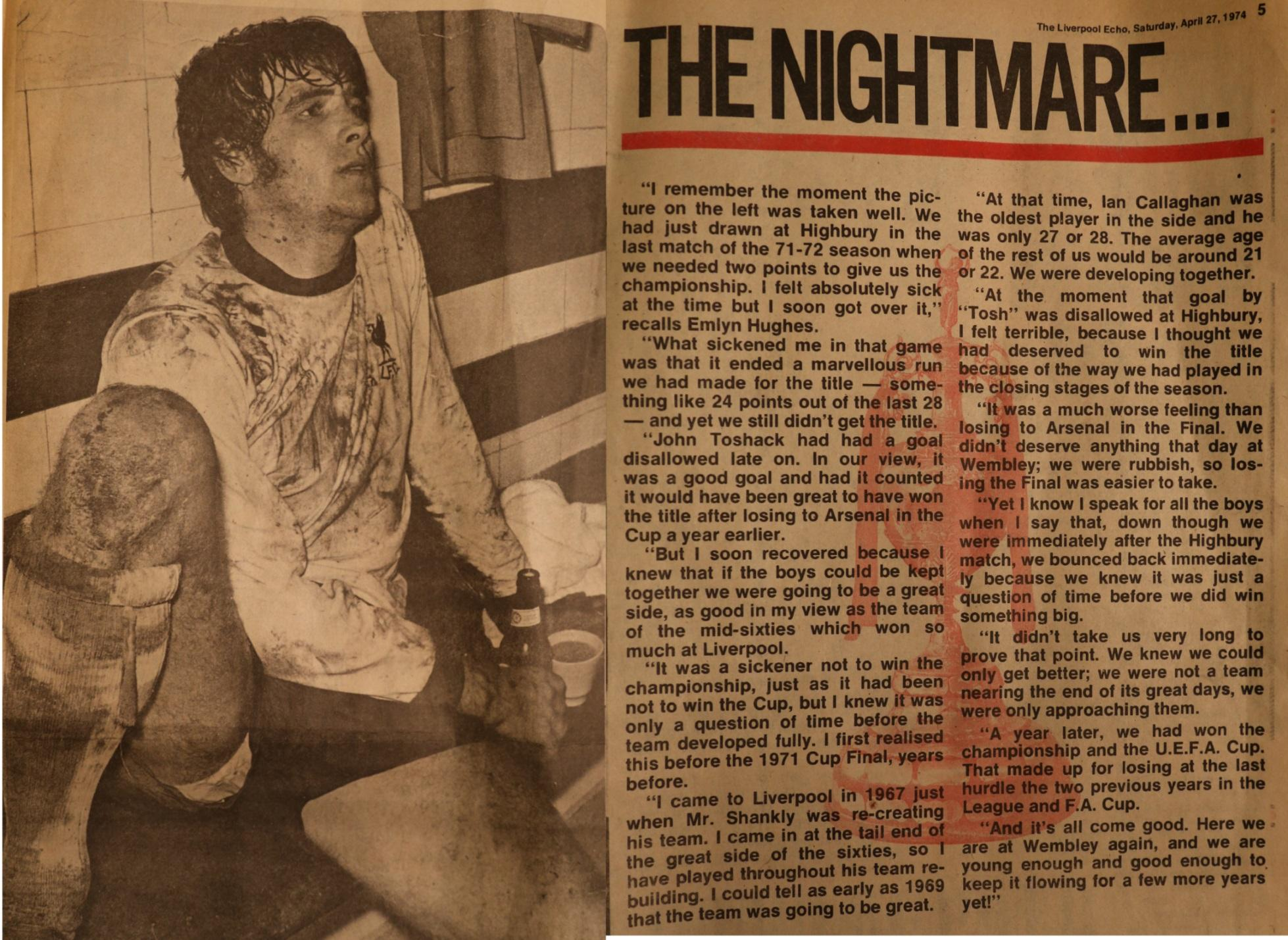 The nightmare - 8 May 1972