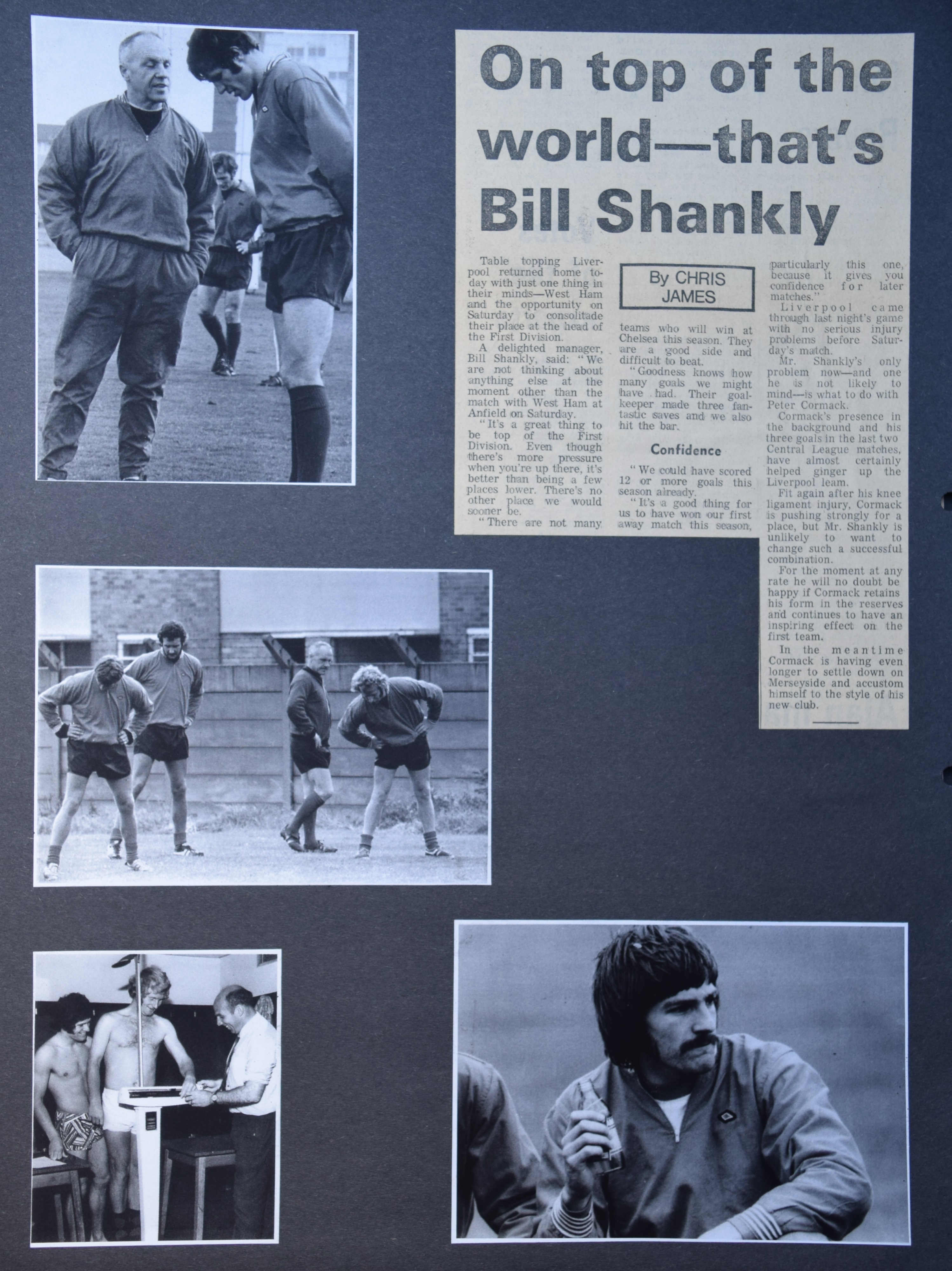 On top of the world - that's Shankly! - August 1972