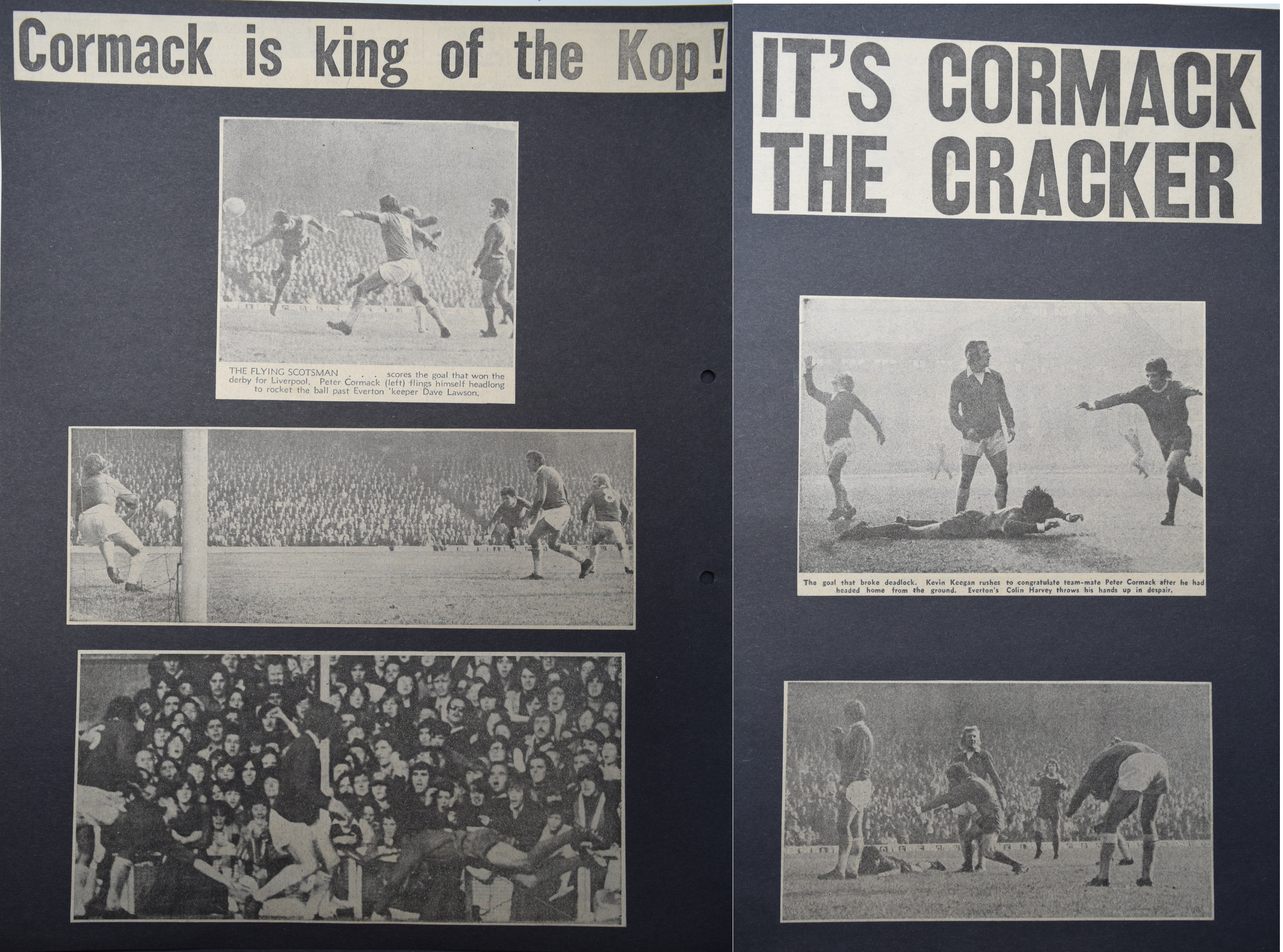 Cormack is king of the Kop! - 7 October 1972
