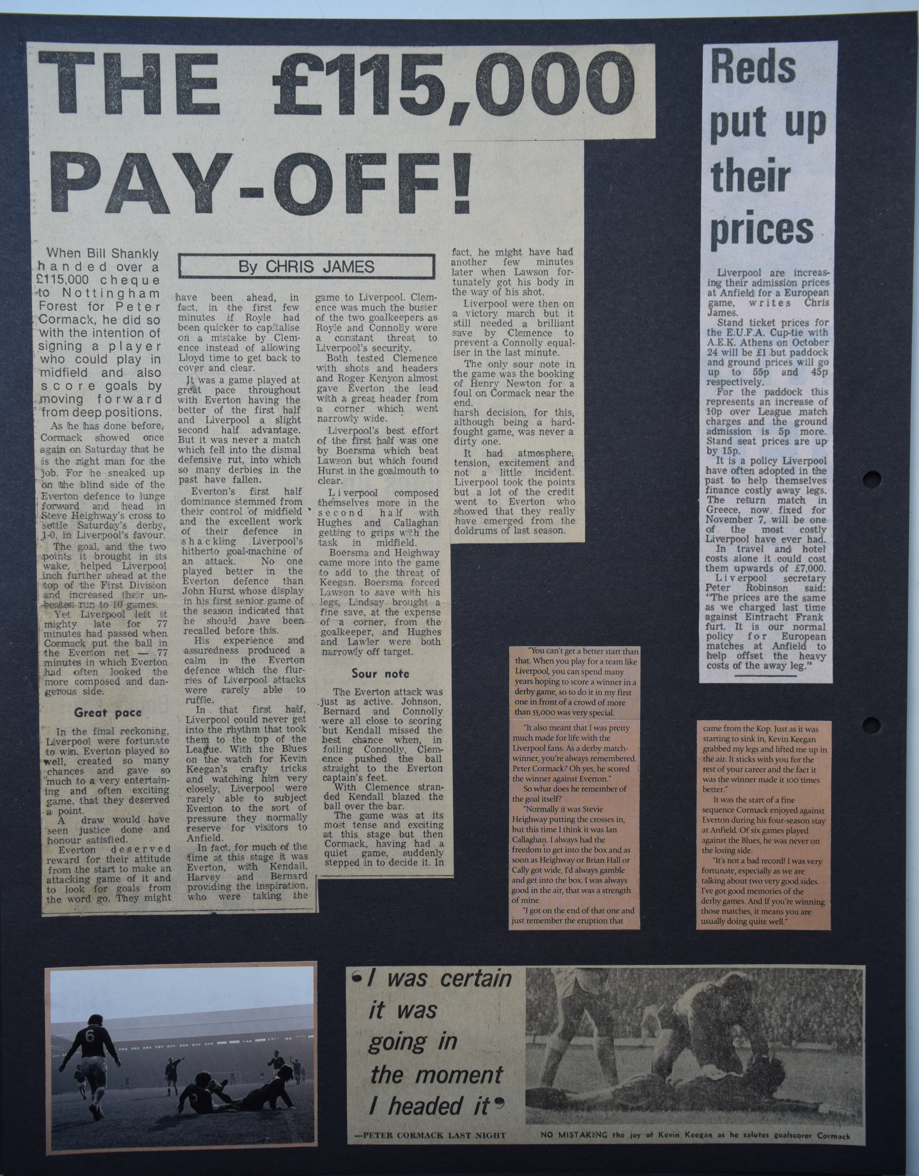 The £115,000 pay-off! - 7 October 1972