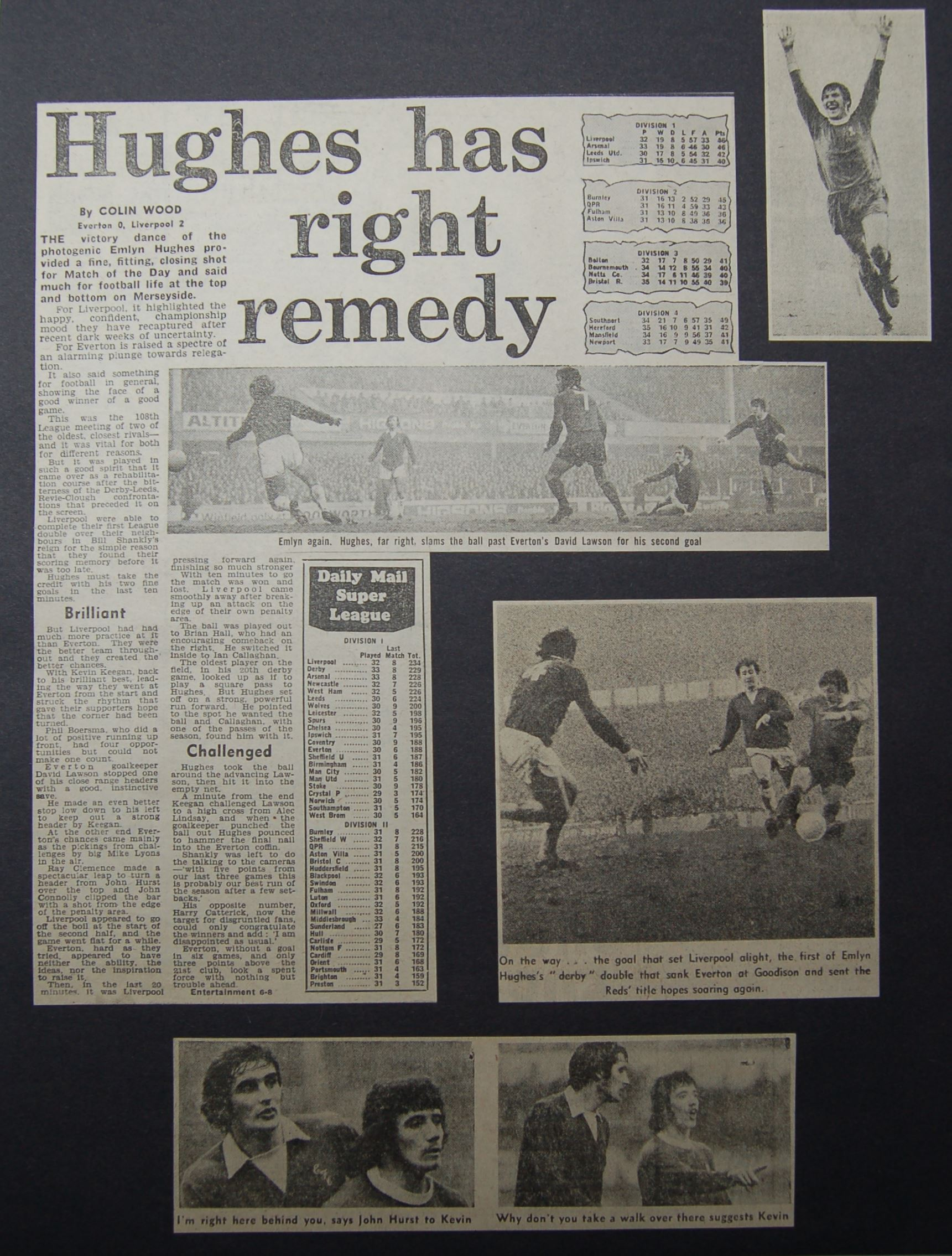 Hughes has right remedy - 3 March 1973