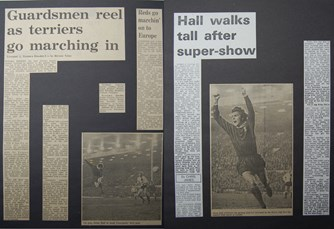 Hall walks tall after super-show - 7 March 1973