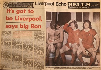 It's got to be Liverpool, says Rowdy on the 1974 FA Cup final