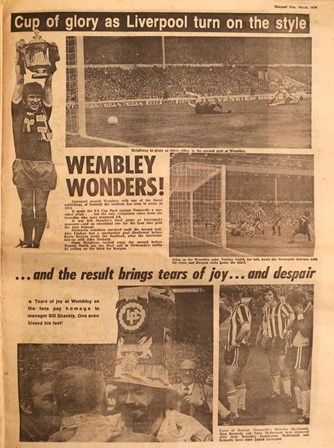 Cup of glory as Liverpool turn on the style - May 1974