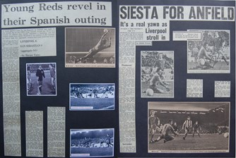 Young Reds revel in their Spanish outing - 4 November 1975
