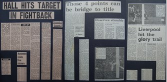 Hall hits target in fightback - 15 November 1975