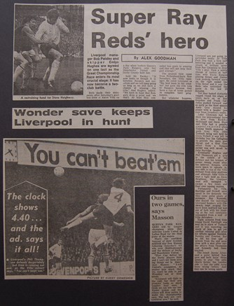 Super Ray Reds' hero - 10 April 1976