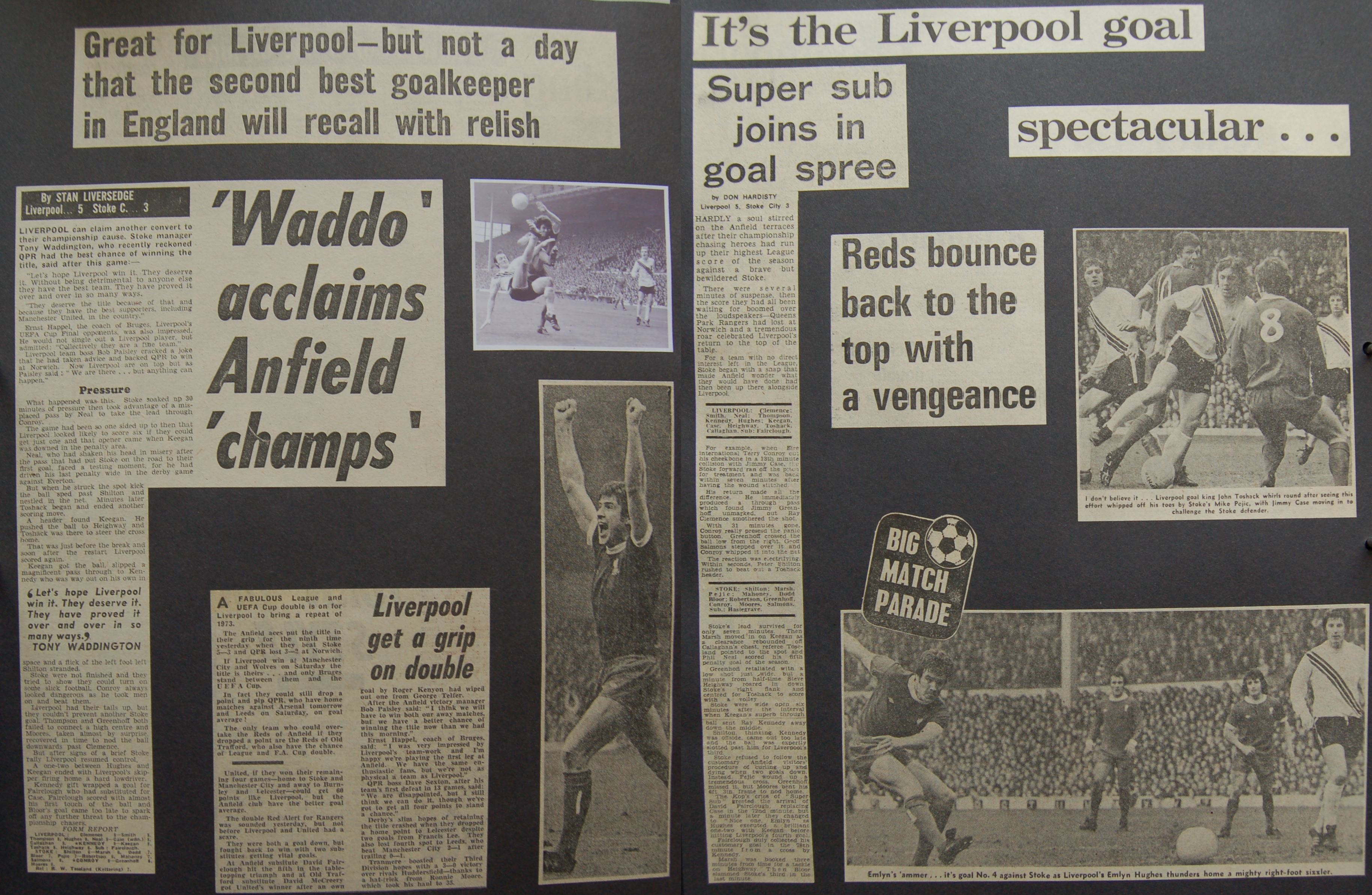 Super sub joins in the goal spree! - 17 April 1976