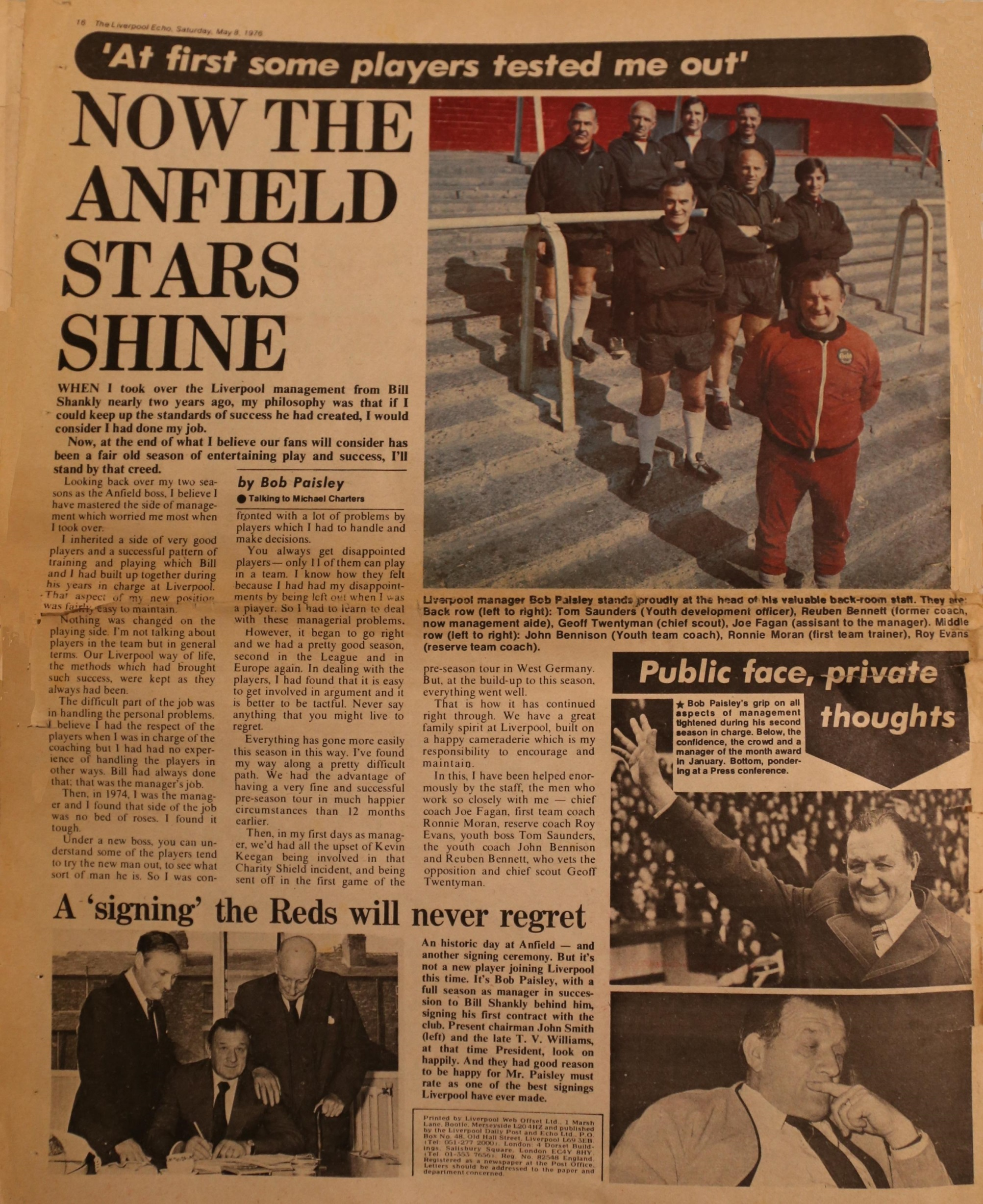Now the Anfield stars shine - 5 May 1976