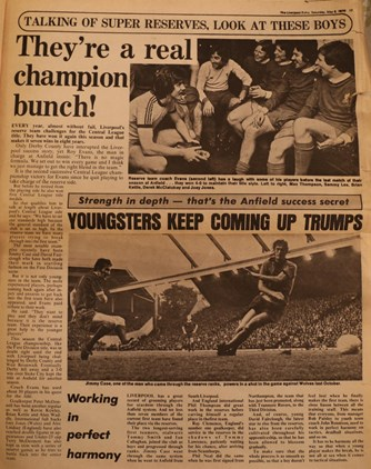 Reserves are a real champion bunch - 5 May 1976