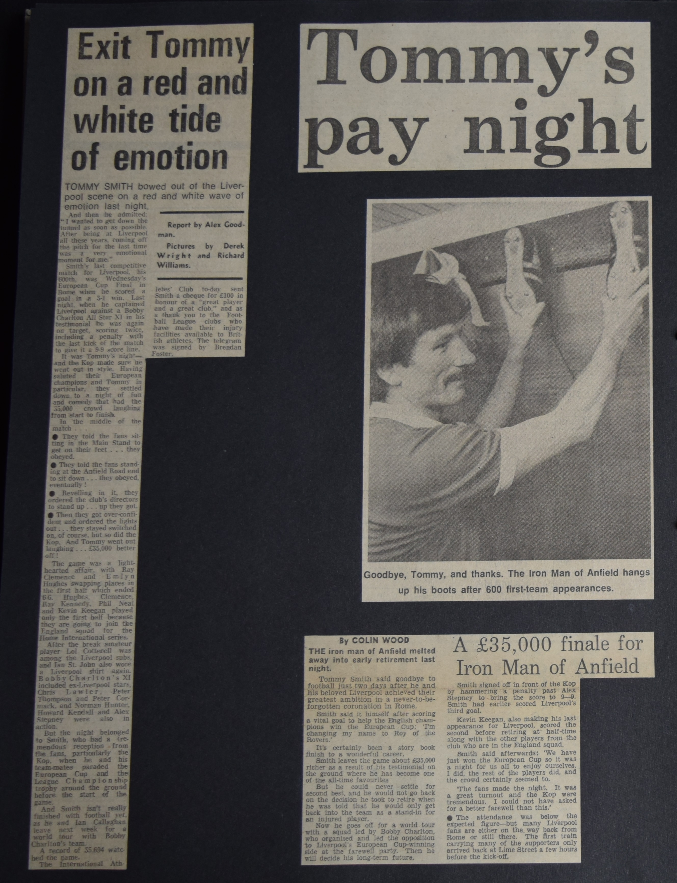 Tommy's pay night - May 1977